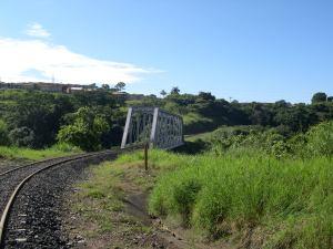 Puente río Virilla en Santo Domingo