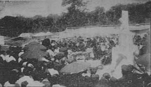 Cementerio de Alajuela - Monumento a las víctimas de la Tragedia del Virilla