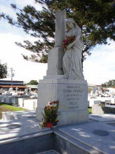 Monumento a la Tragedia del Virilla - Cementerio de Alajuela